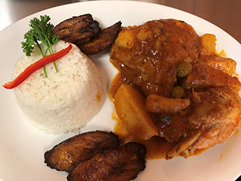Pollo Fricassee / Chicken Stew with Potatoes